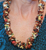 Mixed Native Seed Beads Necklace