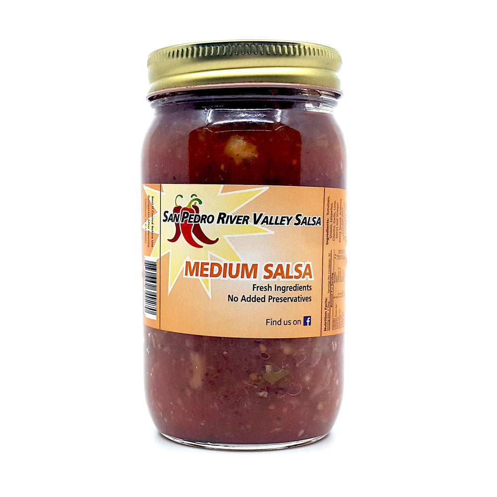 San Pedro River Valley Salsa - MEDIUM (RED)