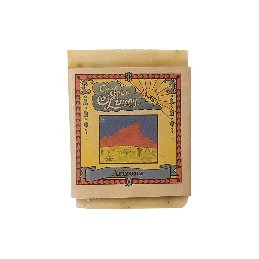 organic soap that smells like the sonoran desert, made in arizona