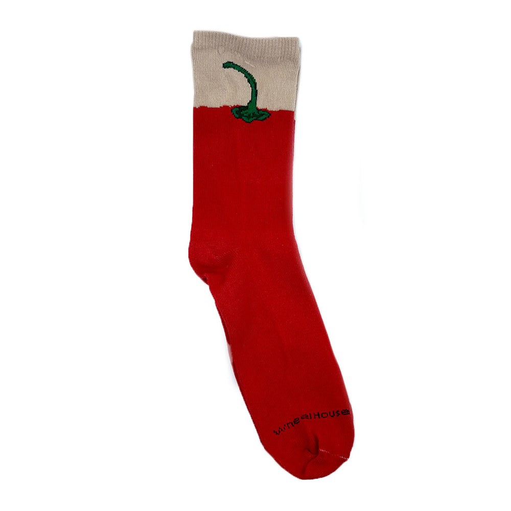 Red Chile Pepper Socks - Close Out/Limited Sizes