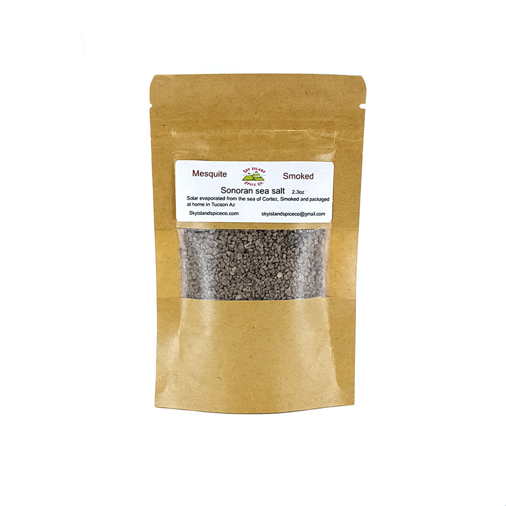 Sonoran Sea Salt - Mesquite Smoked