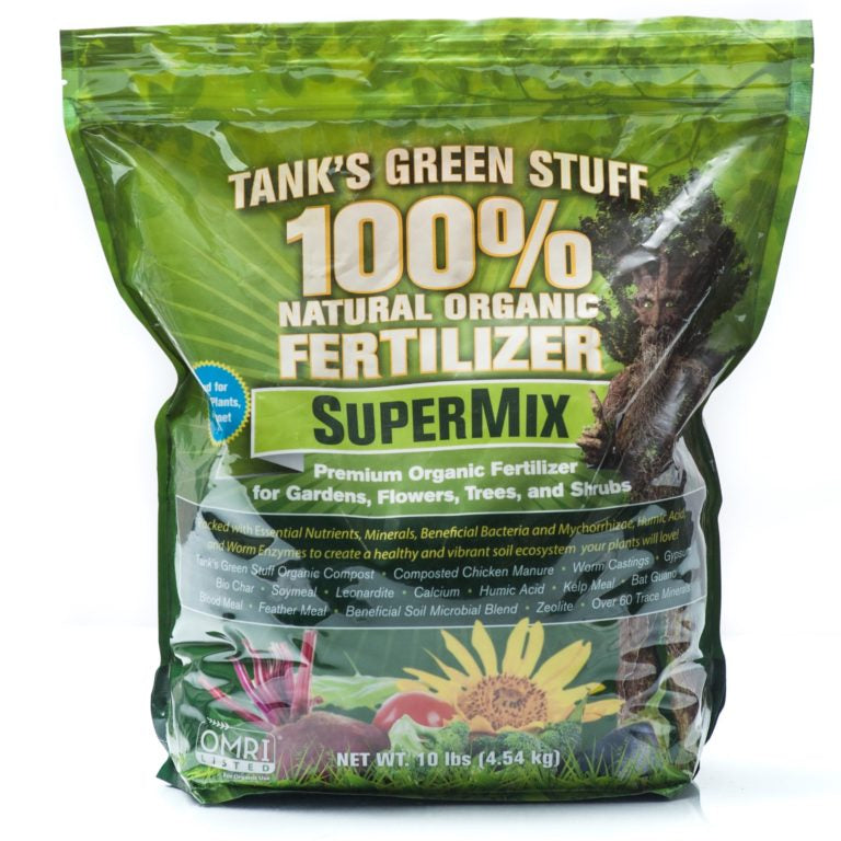 Tank's Green Stuff SUPER MIX FERTILIZER
