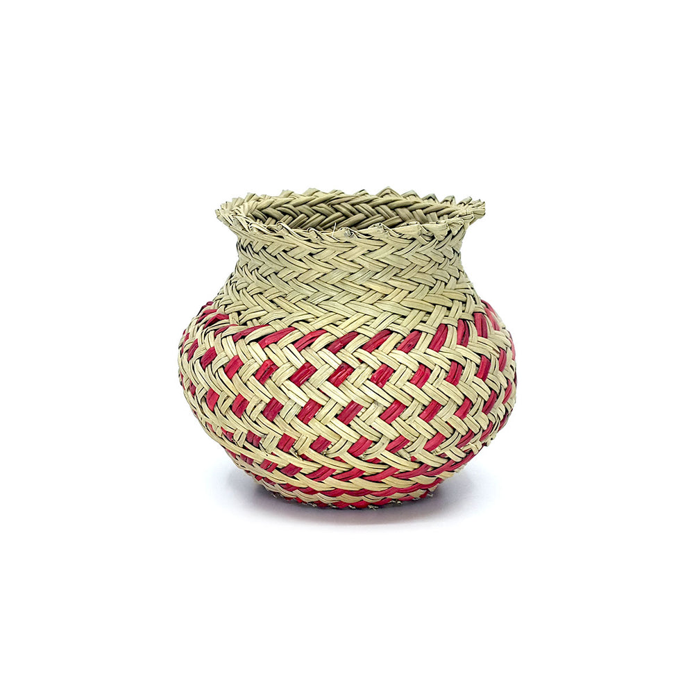 Tarahumara Woven Small Pots - Assorted Colors