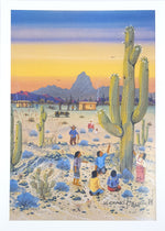 """The First Saguaro"" by Michael Chiago"