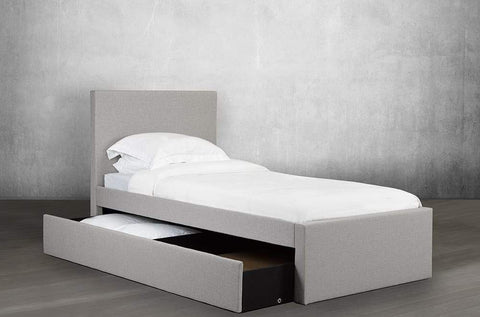 Image of Rosemount Fabrics Trundle and Storage Bed - DirectBed