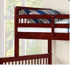 Image of Cherry Wooden Converter Bunk Bed