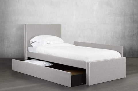 Image of Linen Fabric Transformable Bed - DirectBed