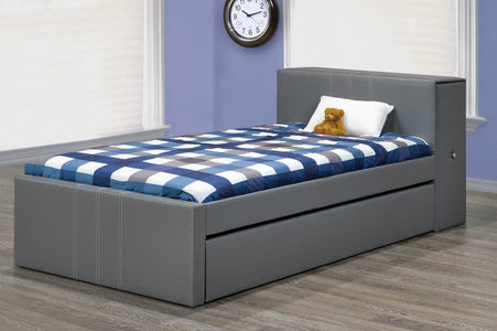 Linen Style Trundle and Storage Bed - DirectBed