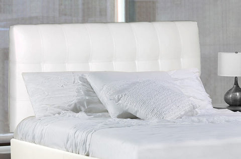Bonded Leather Upholstered Headboard and Bed - DirectBed