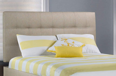 Upholstered Headboard and Bed - DirectBed