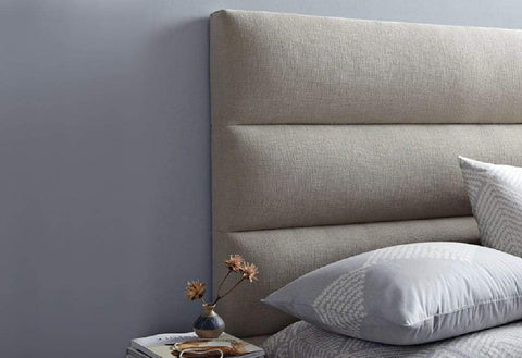 Image of Velvet Fabric Headboard - DirectBed