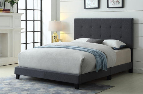 Button Tufted Platform Bed - DirectBed