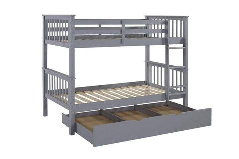 Wood Bunk Bed - DirectBed
