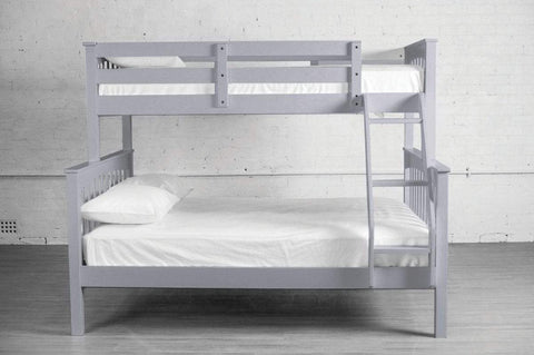 Wood Double Bunk Bed - DirectBed