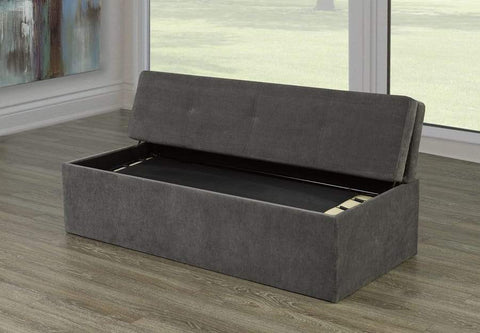 Image of Velvet Fabric Bed in a Box - DirectBed