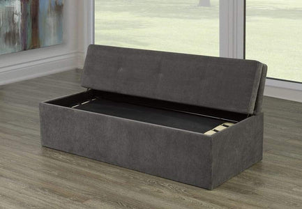 Bonded Leather Bed in a Box - DirectBed