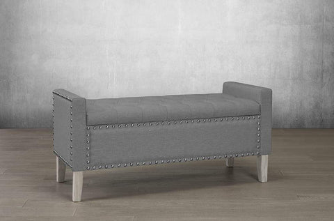 Image of Fabric Storage Bench - DirectBed