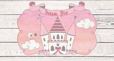 Image of Dream Panels Dream Big Headboard - 3 Styles (Children) - DirectBed