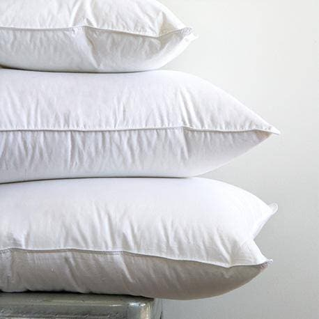 Image of Chinook Hutterite White Goose Down Pillow - DirectBed