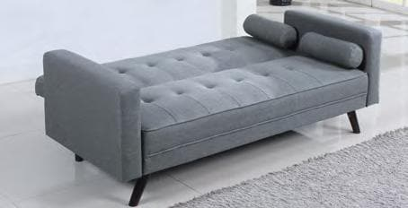 Image of Grey Fabric Sofa Bed