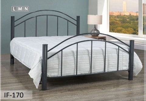 Image of Grey Metal Bed & Frames
