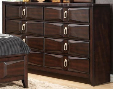 Nina Upholstered Wooden Bedroom Set