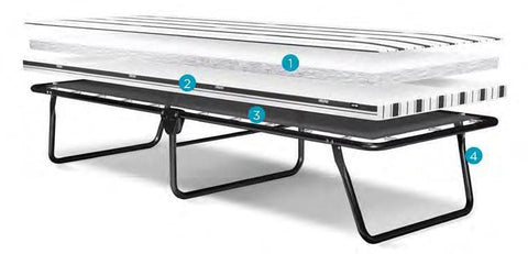 Image of Portable Folding Rollaway Bed