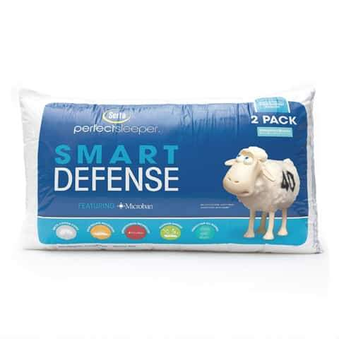 Image of Serta Two-Pack Premium Health Guard Pillows - DirectBed