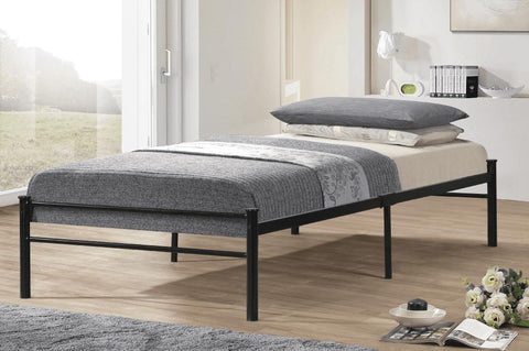 Image of Twin Metal Platform Bed - DirectBed