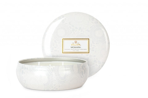 VOLUSPA CANDLE, MOKARA 3 Wicks Candle