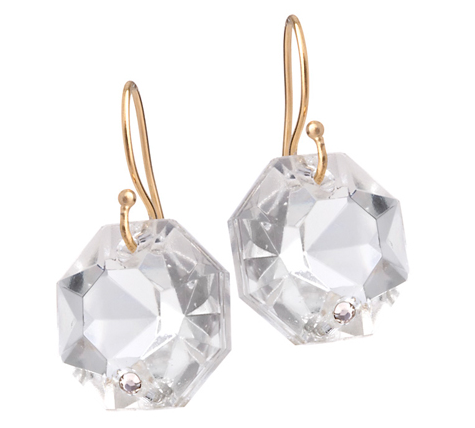 Single Crystal Earrings