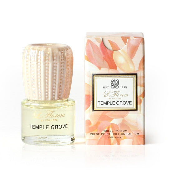 VOLUSPA CANDLE , TEMPLE GROVE ROLL ON PERFUME
