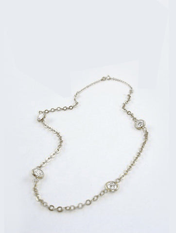 Diamond by the Yard Necklace- Medium