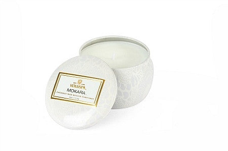 VOLUSPA CANDLE, MOKARA TIN
