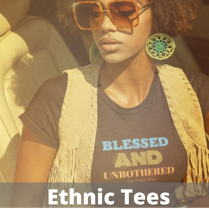 Afrocentrics T Shrits for Black Women and Brown Women about natural hair
