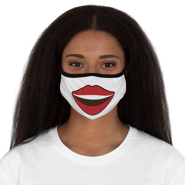 BIG Smiling - Women's Fitted Polyester Face Mask
