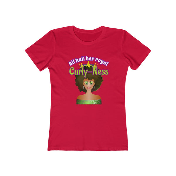 All Hail  - Curly hair t shirt