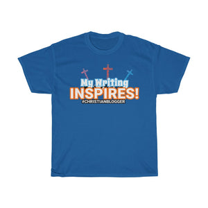 Christian Blogger Shirt - My Writing Inspires!