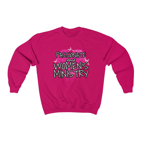 Image of Passionate about Women's Ministry Sweatshirt