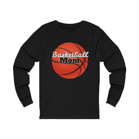 Image of Basketball Mom Shirt - Long Sleeve