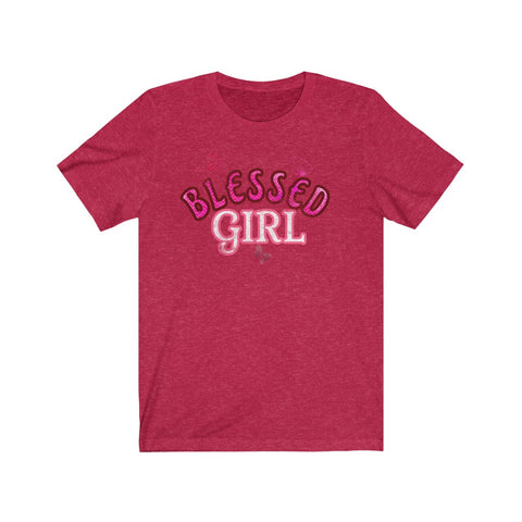 Blessed Girl Butterfly Tee