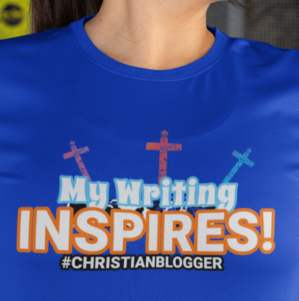 Image of Christian blogger shirt