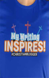 Christian blogger shirt