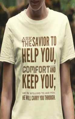 Ask the Savior to help you