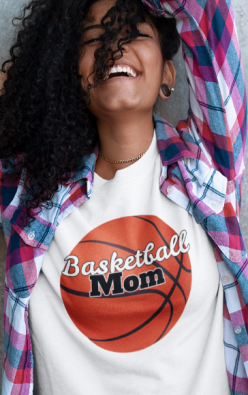 Image of basketball mom shirt