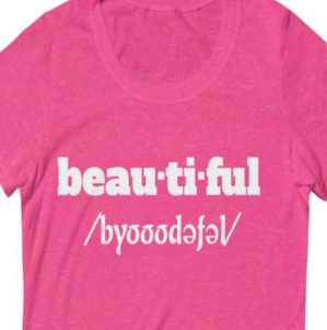 Image of I'm beautiful shirt for women