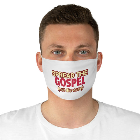 Fabric Face Mask - Spread the Gospel