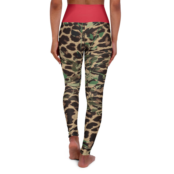 Leopard High Waisted Yoga Leggings