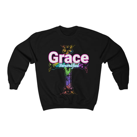 "A ""Grace"" Religious or Christian Sweatshirt"