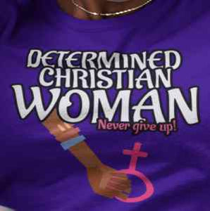 Christian message t shirts for women